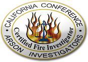 California Certified Fire Investigator